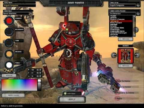 dawn of war titanium wars units