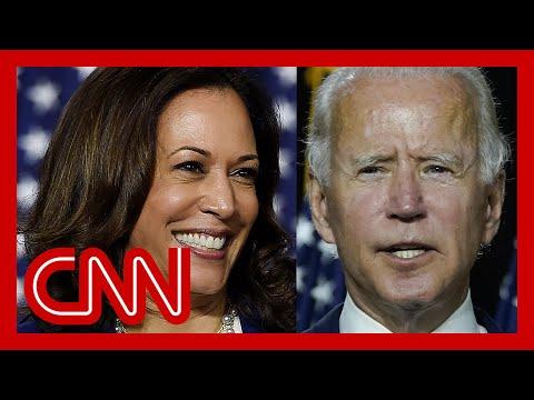 CNN: Biden, Harris take aim at Trump in first campaign event