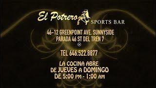 El Potrero Sports Bar Menu