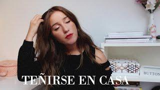 ¡¡ME TIÑO EN CASA!! DE RUBIA A CASTAÑA