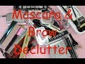 Mascara & Brow Makeup Declutter