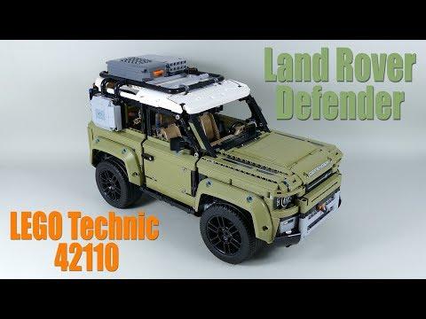 Designer Review Land Rover DEFENDER LEGO Technic 42110