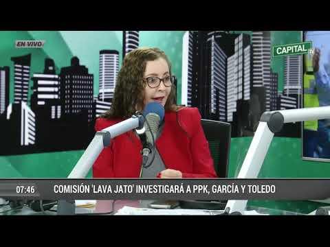 Congresista de Fuerza Popular Rosa Bartra respondió en Capital