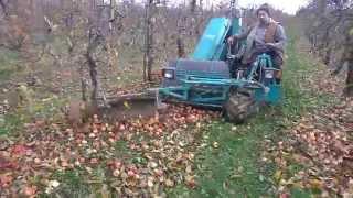 Krauß  SF1000 A, czyli jak maszynowo zbiera się  jabłka ;)