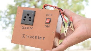 How to Make Simple 100 Watts Inverter 12V to 220V at Home   Homemade Small Size AC to DC Buy Online