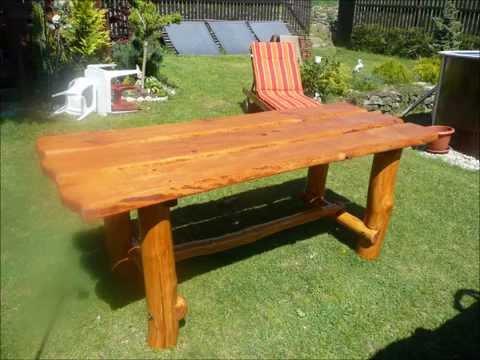 Výroba Laviček a stolu