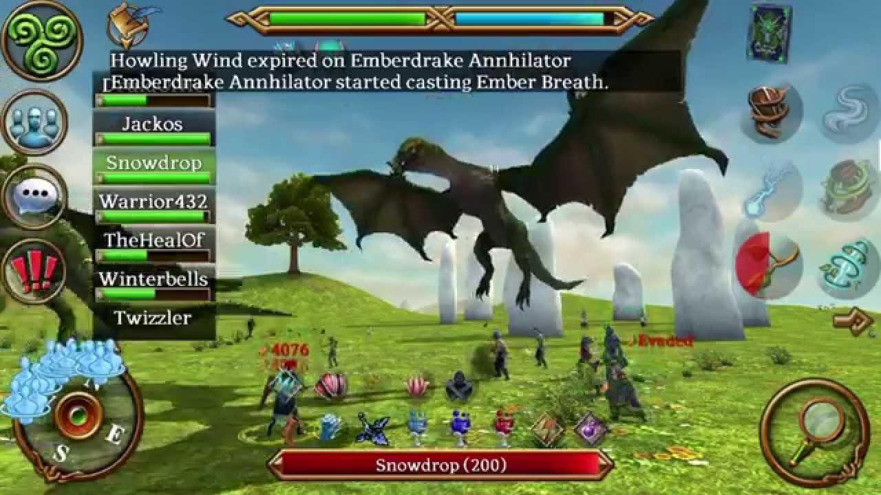 Emberdrake Annihilator (Celtic Heroes)