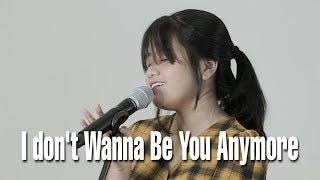 Gambar cover I DON'T WANNA BE YOU ANYMORE - Billi Eilish (Cover) by Hanin Dhiya
