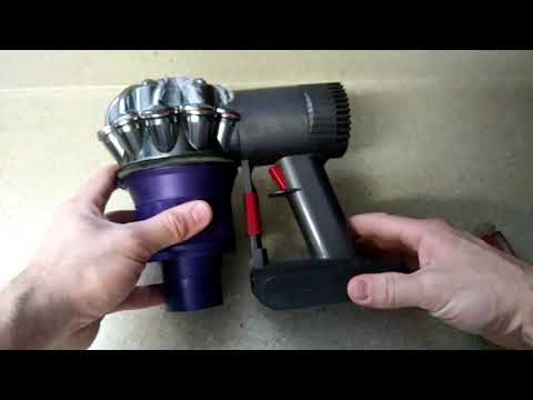How to clean a Dyson V6 cordless vaccum cleaner