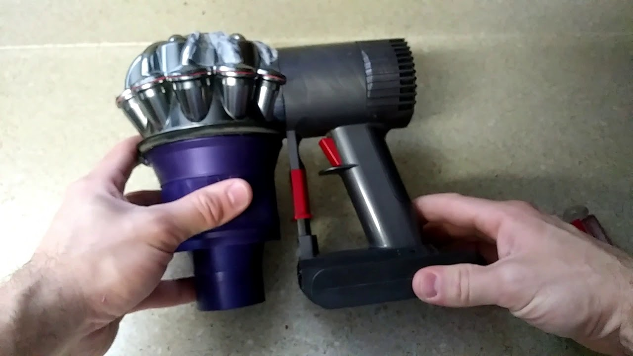 Cleaning the filters on a dyson vacuum