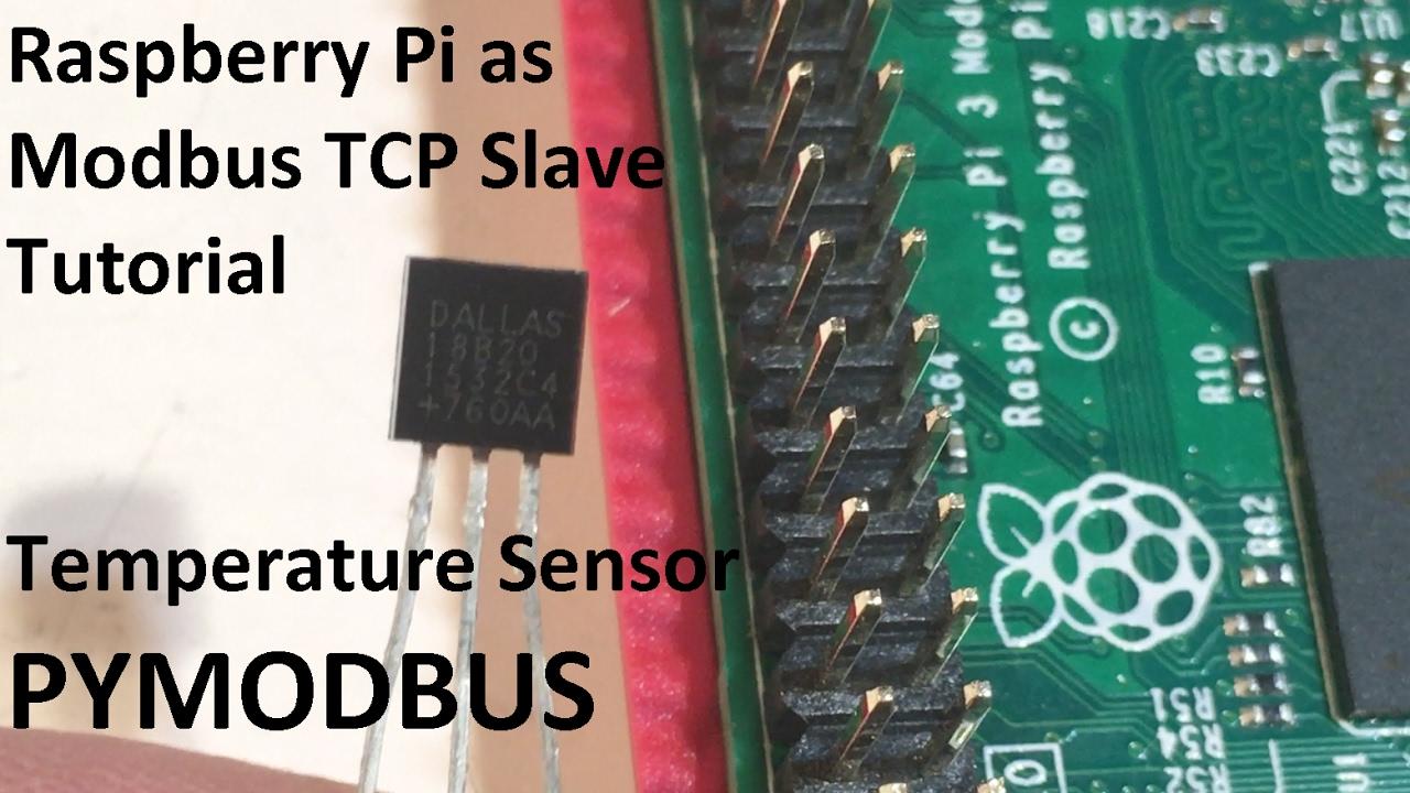 Raspberry Pi - Tutorials - RPi as ModbusTCP Slave Temperature Sensor