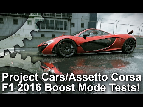 PS4 Pro Boost Mode: Project Cars, Assetto Corsa and F1 2016 Tested!