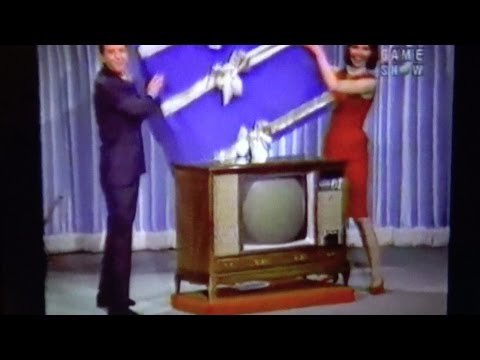 Admiral Color TV prize on Lets Make A Deal pilot in 1963
