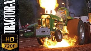 Amazing TRACTOR Pulling Blowing Engine HD II Tractor-X