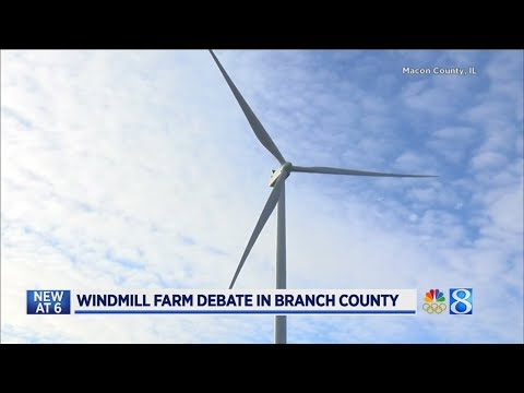 Group opposes planned wind farm in Branch Co.