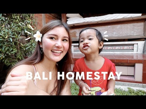 Staying With A Balinese Family in Ubud, Indonesia!