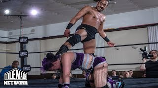 Darius Carter vs Riley Shepard (Intergender Wrestling) Queen of the North 2