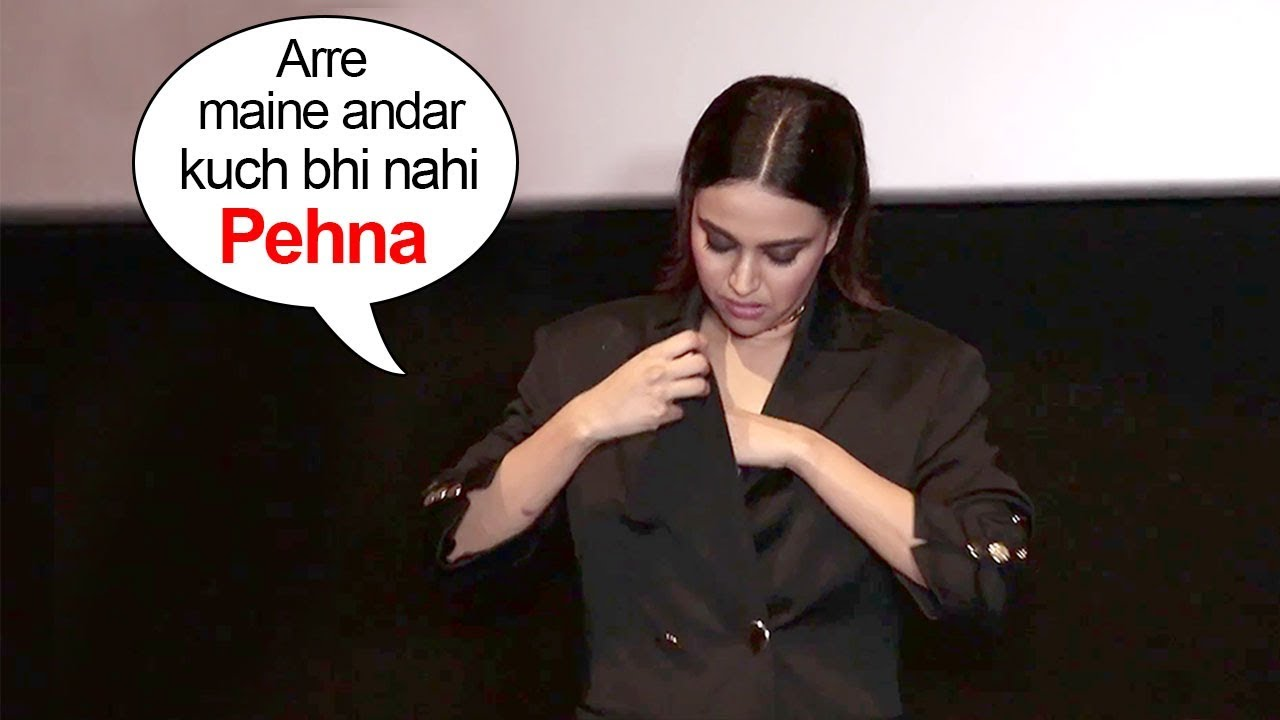 Swara Bhaskar Purposely Embarrasses Herself To Get ATTENTION From Media #1