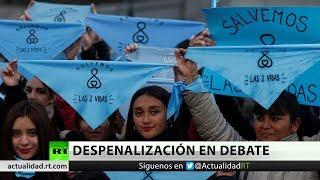 Argentina: El debate sobre el aborto legal llega al Senado