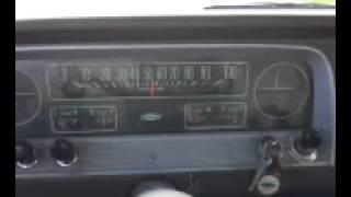 1966 Chevrolet C10 on California route 99