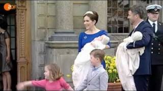 Christening of Prince Vincent & Princess Josephine (14 April 2011) German Media Thumbnail