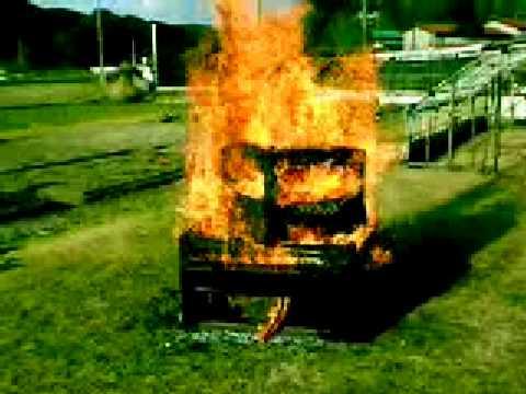 Butsudan burning 6