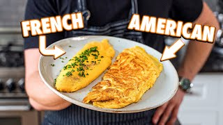 The Perfect Homemade Omelet (3 Ways)