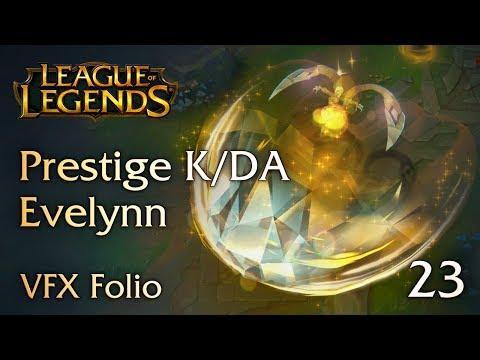 [VFX Folio] Prestige K/DA Evelynn