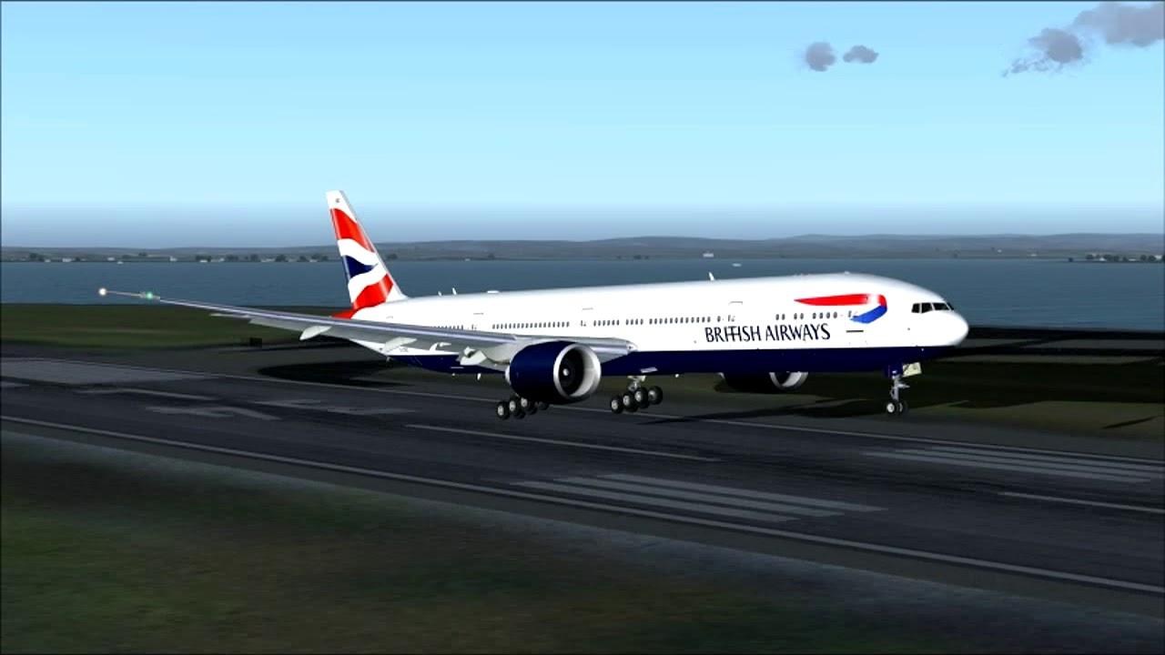 BA15 777 300ER BRITISH AIRWAYS SINGAPORE - SYDNEY