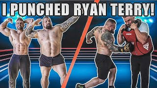 I PUNCHED RYAN TERRY AS HARD AS I COULD! | He punched me back...
