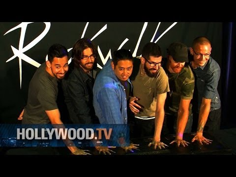 Linkin Park honored at Rock Walk - Hollywood.TV