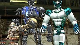 REAL STEEL ONLINE-UNKNOWN ROBOT vs TURBO + DLC STAGE 1 ( AMBUSH & VESPULA, FUSION, SCORPIO)