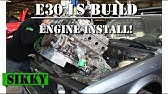 BMW E30 LSx Swap Kit | SIKKY Manufacturing - YouTube