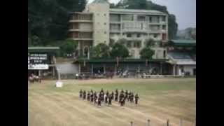 Dharmaraja college western band at the college sports meet