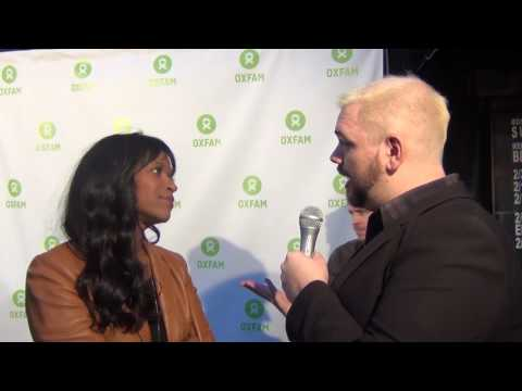 Merrin Dungey at Comedy Not Conflict Charity Event