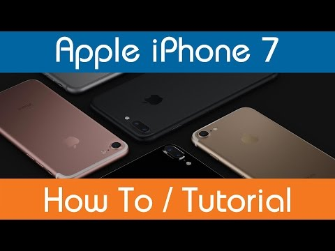 How To Change The Ringtone - iPhone 7