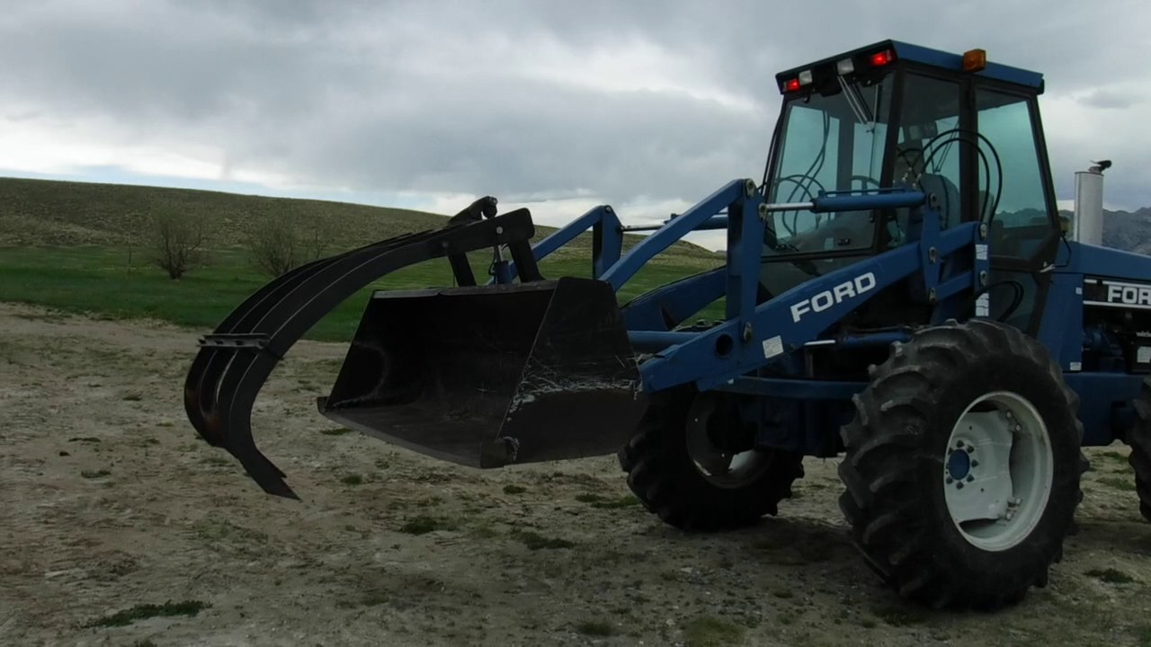 Ford Bi Directional Tractor : Ford versatile wd bi directional articulating