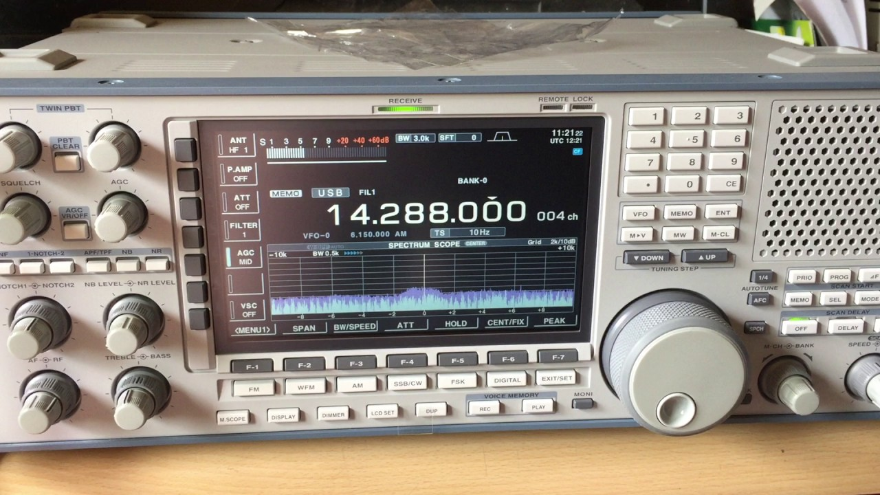 ICOM IC-R9500 RECEIVER DRIVERS UPDATE
