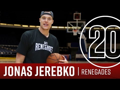 Renegades Team Owner Jonas Jerebko 20 Questions