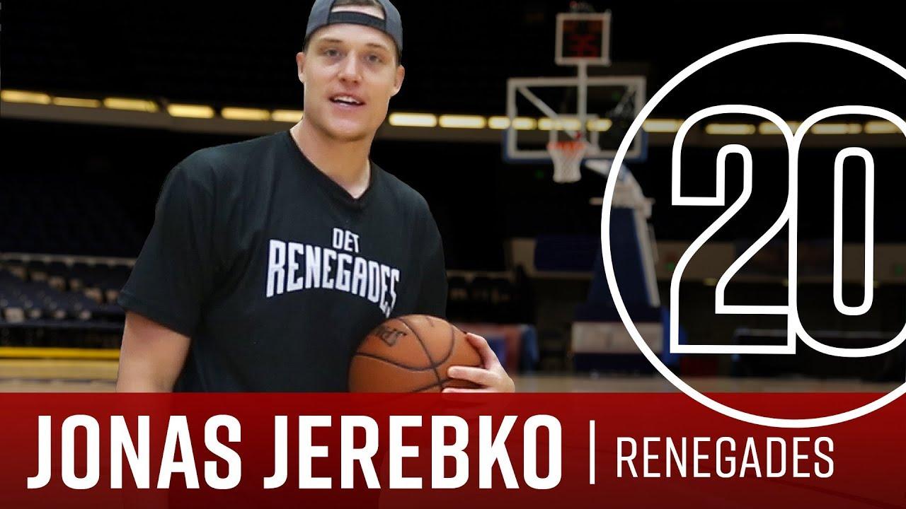 501ade8d9ff8 Renegades Team Owner Jonas Jerebko 20 Questions - YouTube