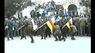 Клятва осетин - добровольцев Отечественной войны 1992 - 1993 г.г. абхазского народа. г. Цхинвал
