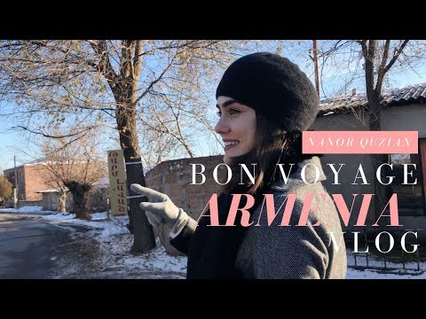 Vlog 5:  Bon Voyage Armenia!