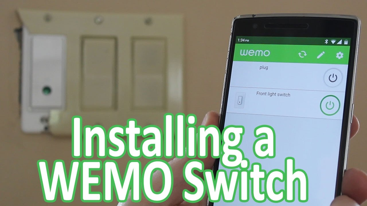 Installing a WEMO Light Switch