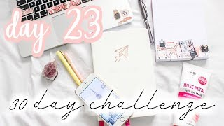 Do these 5 things every night- Day #23: 30 day Get Your Life Together Challenge [Roxy James] #GYLT