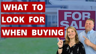 What to look for when buying a new house