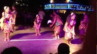 Greenwood Primary school perform Indian dance at little India , Singapore