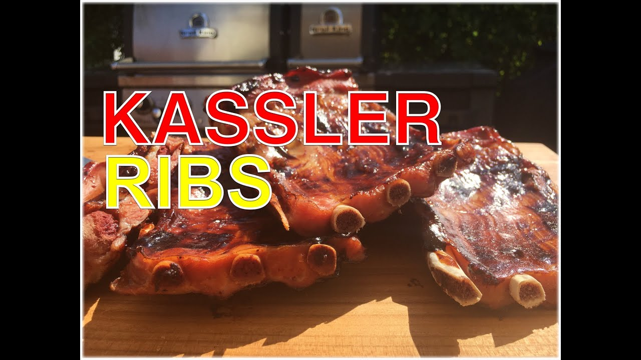 Spareribs Gasgrill Broil King : Kasslerribs vom gasgrill kassler rippchen klaus grillt youtube