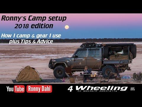 Ronnys 4 Wheeling Camp setup 2018, part 1
