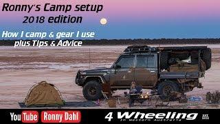 Ronny's 4 Wheeling Camp setup 2018, part 1