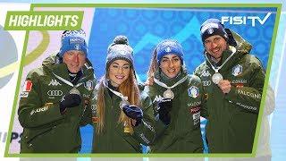 Mondiali: Vittozzi/Wierer/Hofer/Windisch argento nella staffetta mista